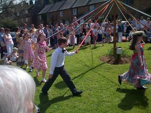 May Day Dancing