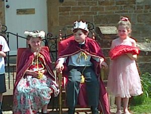 Crowning of May King and Queen