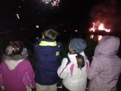 Warmington Bonfire, Warwks, 05.11.13