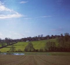 Horley, taken from Spring Field