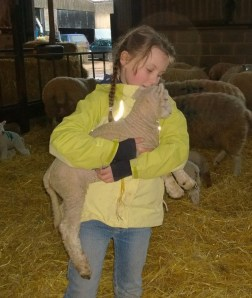 My El with a new lamb