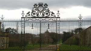The gates of Castle Howard. The nearest I got - this time.